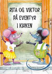 Rita og Viktor på  eventyr i kirken