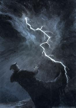 Martin plakat - 'Uvejret ved Stotternheim'