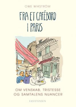 Fra et cafébord i Paris