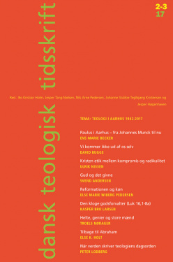 Dansk Teologisk Tidsskrift 80/2-3