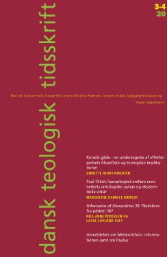 Dansk Teologisk Tidsskrift 83-3/4