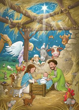 Juleglæde i Betlehem - Julekalender