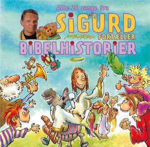 Sigurd fortæller bibelhistorier - CD