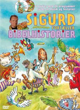 Sigurd fortæller bibelhistorier - DVD
