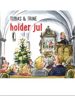 Tobias & Trine holder jul