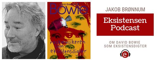 Jakob Brønnum fortæller om sin bog om eksistensdigteren m.m. David Bowie