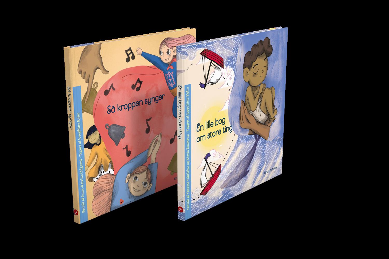 To bøger for børn fra et til tre år