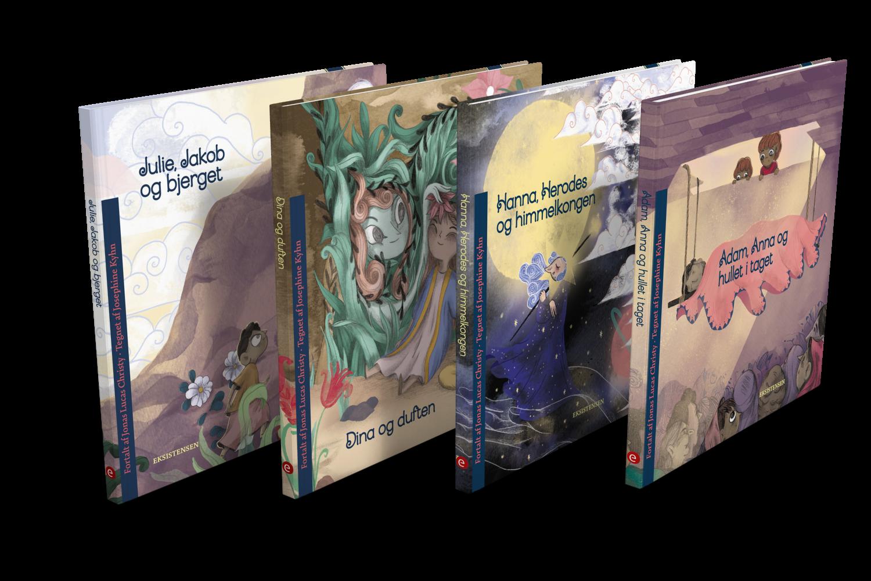 Fire bøger for børn fra seks til ni år
