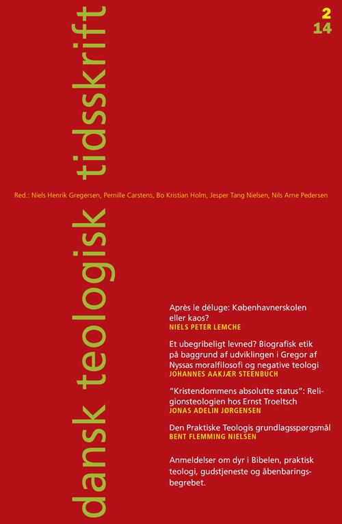 Dansk Teologisk Tidsskrift nr. 2, 2014