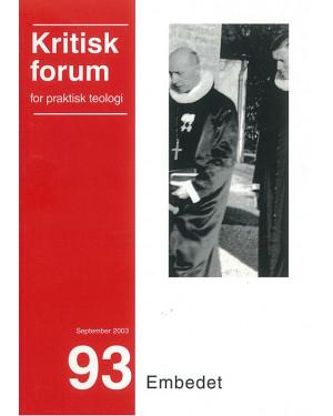 Kritisk Forum nr. 93, 2003-2004