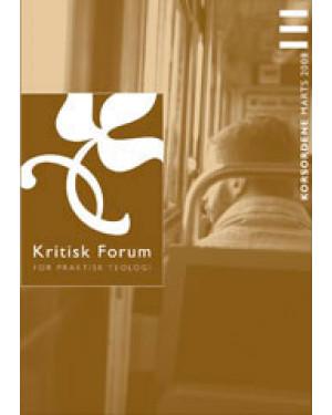 Kritisk Forum nr. 111, 2008