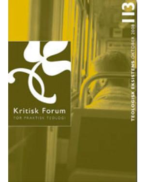 Kritisk Forum nr. 113, 2008