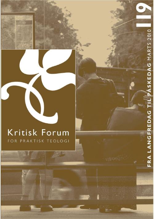 Kritisk Forum nr. 119, 2010