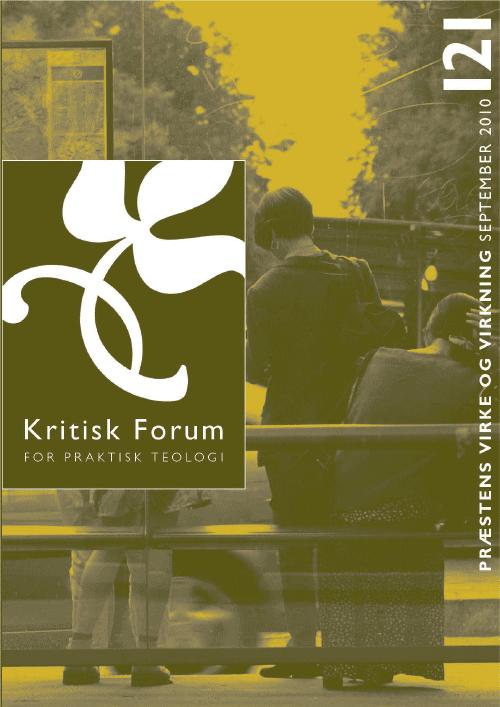 Kritisk Forum nr. 121, 2010