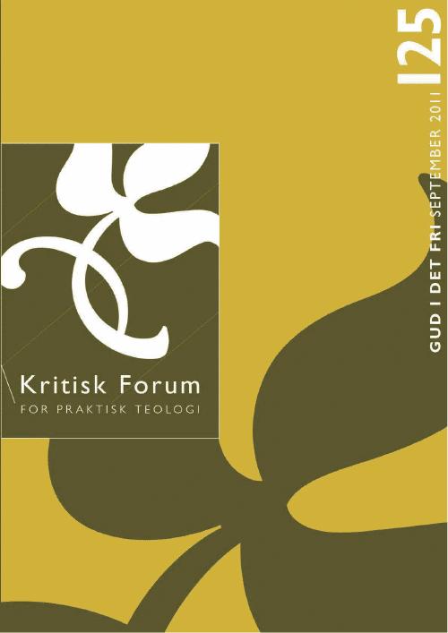 Kritisk Forum nr. 125, 2011