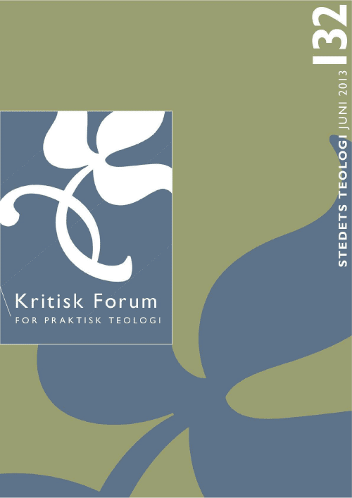 Kritisk Forum nr. 132, 2013