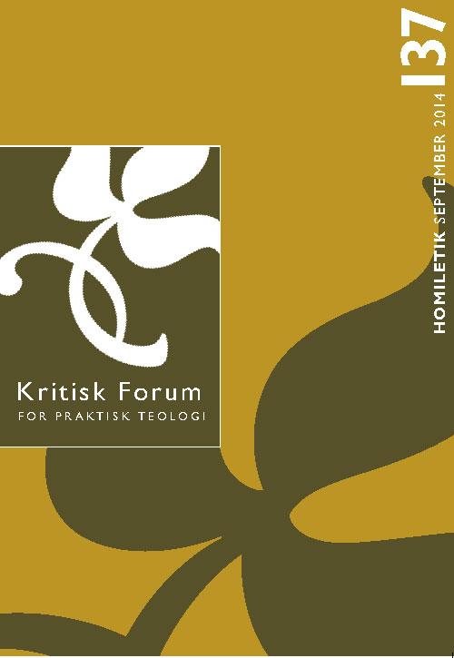 Kritisk Forum nr. 137, 2014