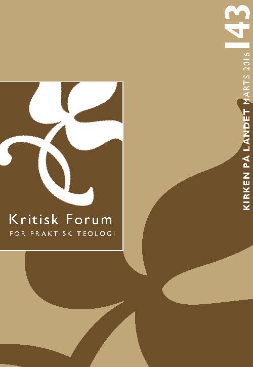 Kritisk Forum nr. 143, 2016