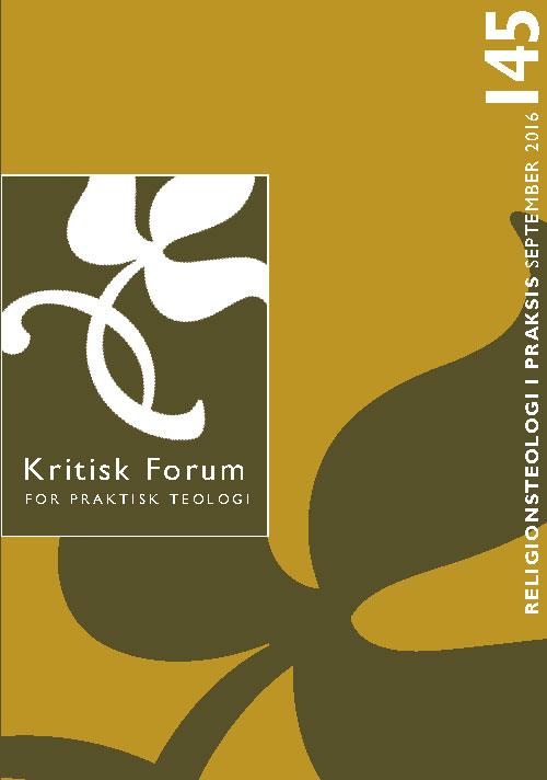 Kritisk Forum nr. 145, 2016