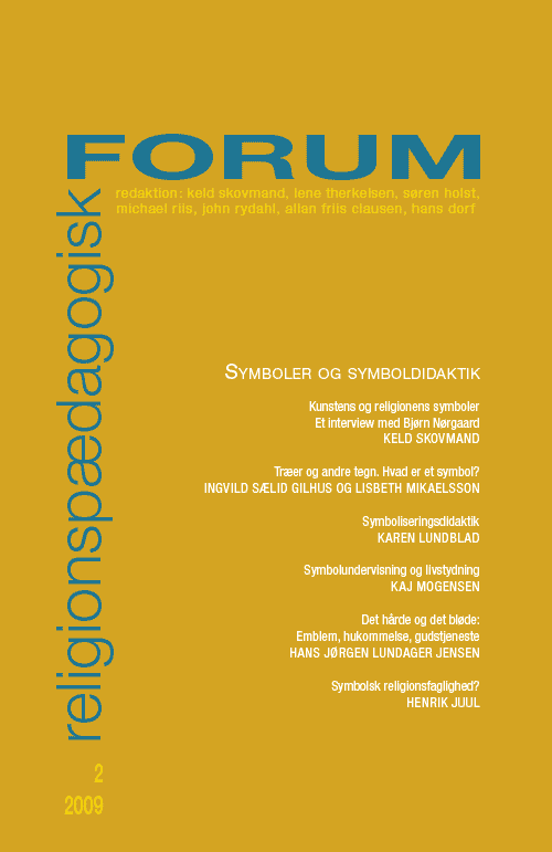 Religionspædagogisk Forum nr. 2, 2009