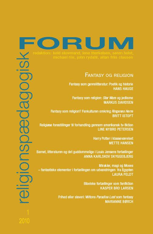 Religionspædagogisk Forum nr. 1, 2010