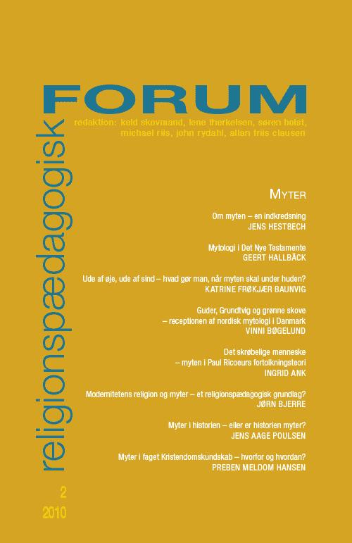 Religionspædagogisk Forum nr. 2, 2010