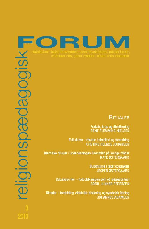 Religionspædagogisk Forum nr. 3, 2010